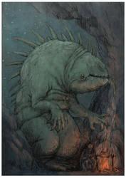 GLUTTONOUS DRAGON by Hetman80