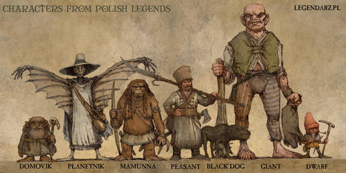 CHARACTERS FROM POLISH LEGENDS by Hetman80
