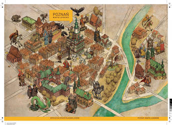 Map of the legends by Hetman80