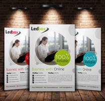Simple Clean A4 Business Flyer by Designhub719