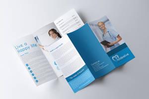 Medical Tri Fold Brochure by Designhub719