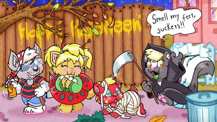 Halloween group pic section by tailslover42