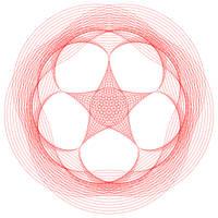 Layered Spirograph 5 by GarrettNelson