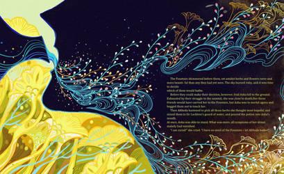 The Fountain Of Fair Fortune20 by KibiQeQ