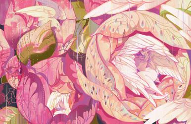 sleeping birds by KibiQeQ