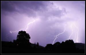 Lightning Strike by FlorentCourty