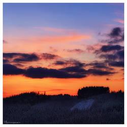 Winter Dusk by FlorentCourty