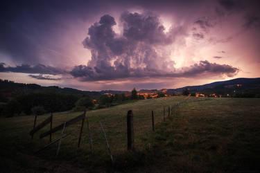 Thundergod by FlorentCourty