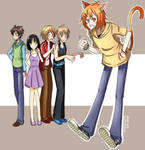 Request- Ren and others by AlineSM