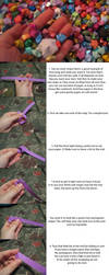 Origami Tutorial: Lucky Star by silverbeam