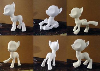 BJD Pony by silverbeam