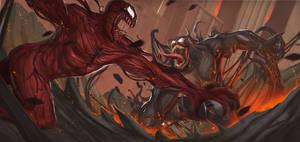 Venom Vs Carnage by global99