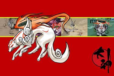 Okami: Amaterasu by TheJerbear