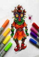 Skull Kid from TLoZ by RM-LM