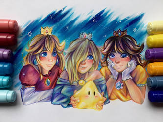 The princesses  by RM-LM