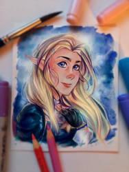 Zelda Fanart by RM-LM