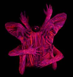 UV Bodypainting - Mutarium by Alienjedna