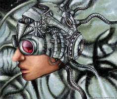 Techno-head by Alienjedna