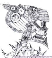 Skull -souleater by Alienjedna