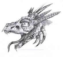 Cyber dragon by Alienjedna