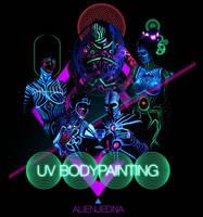 UV Bodypainting promo img by Alienjedna