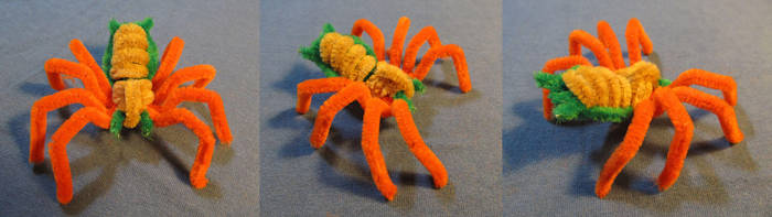 Pipecleaner Spider by SecndLogic