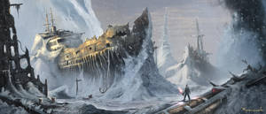 Shipwreck Outside by rymin07