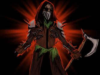 Darkest Dungeon Style Attempt by The-Punforgiven