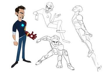 Tony Stark by BlibaBlob