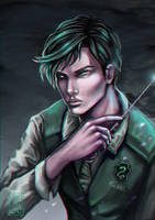 Tom Riddle by Vallynia
