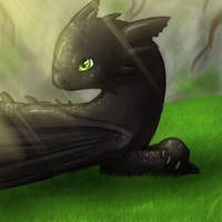 Toothless by Fyre-Dragon