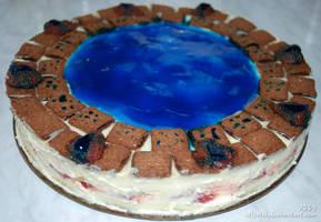 StarGate Atlantis Cake by Allerlei