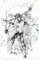 Gambit for coloring by jey2dworld