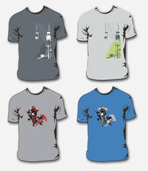 3DH Cup Tees by extrem