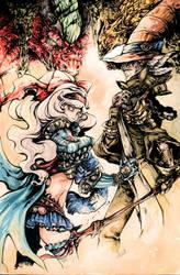 Genetic x Warlock by YunaXD