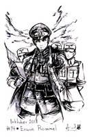 Inktober 14 Erwin Rommel by YunaXD