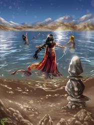 Lago Mana Sarovar by YunaXD