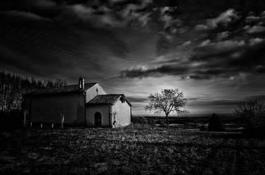 Rural Church by LuGiais