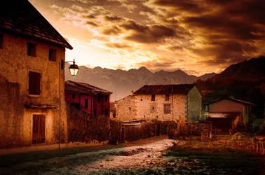 Andreis - Village - Friuli - Italy by LuGiais