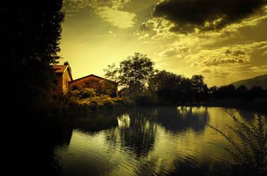 Pond by LuGiais