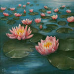 Water Lilies by kvapmo
