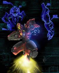Iron-Man Redux Alt colors by clarkspark