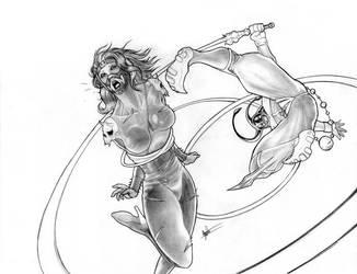 R1: Mezmo vs Demoness by clarkspark