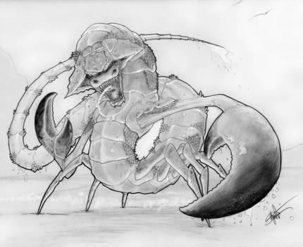 Cancer Dragon by clarkspark