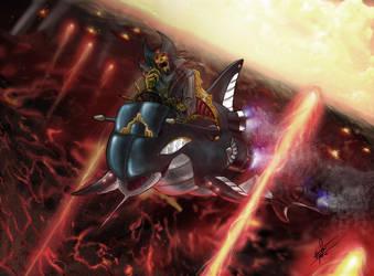 Captain Blood - Orca Speedster by clarkspark
