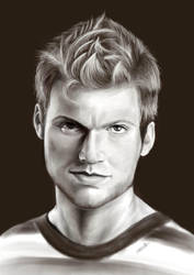 nick carter ilustration by marcellacarter
