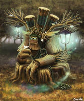 Tree of wisdom by Son-Ra