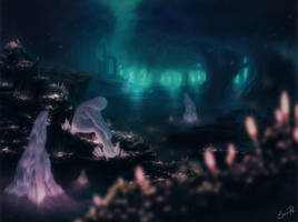 Crystallized waiting by Son-Ra