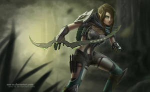 Elven archer by Son-Ra