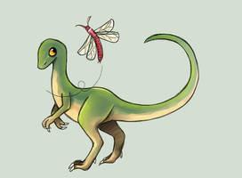 CLOSED: Compsognathus by Verduflu